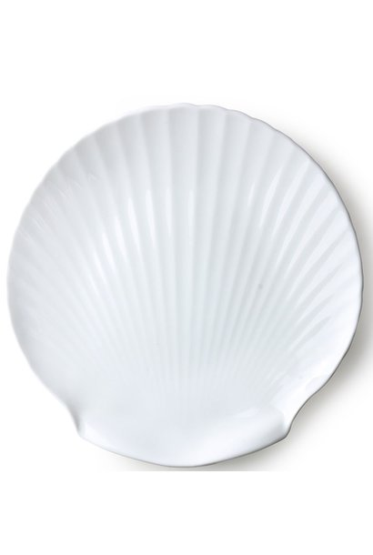 Serveer plank bone china shell