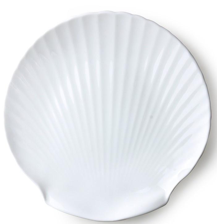 Serveer plank bone china shell-1