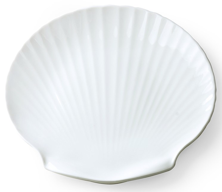 Serveer plank bone china shell-3