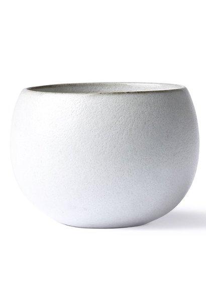 Mok ceramic ball mug white