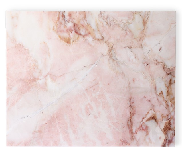 Schaal marble pink polished-1