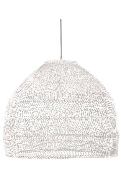 Hanglamp Wicker white