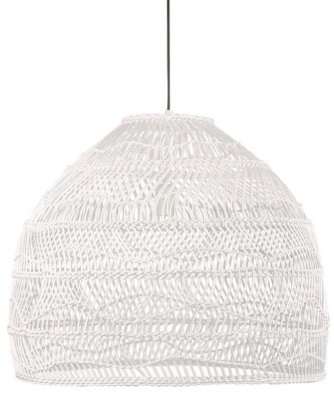 Hanglamp Wicker white-1