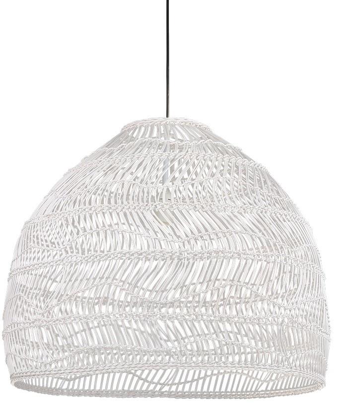 Hanglamp Wicker white-3
