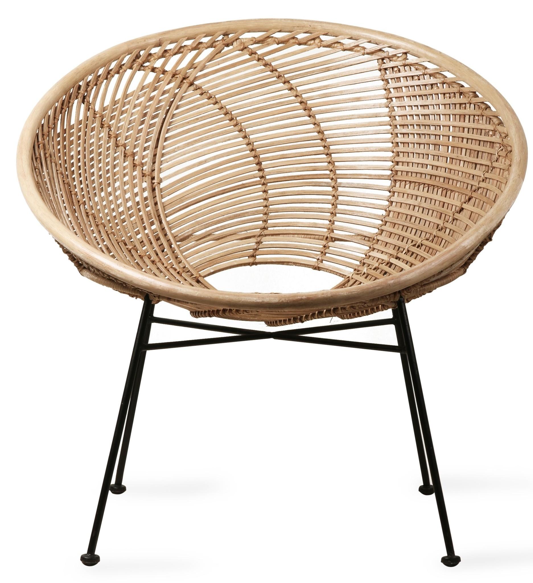 Stoel rattan ball lounge chair natural-3