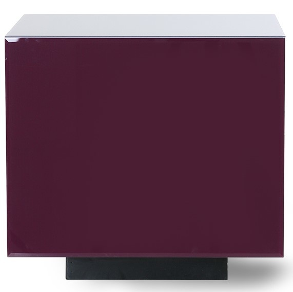 Tafel mirror block Purple-1