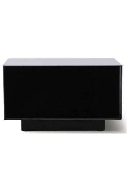 Tafel mirror block black 60x35cm