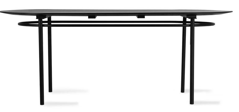 Tafel oval table black-3