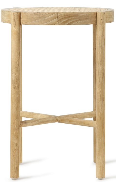 Kruk retro webbing stool naturel-3
