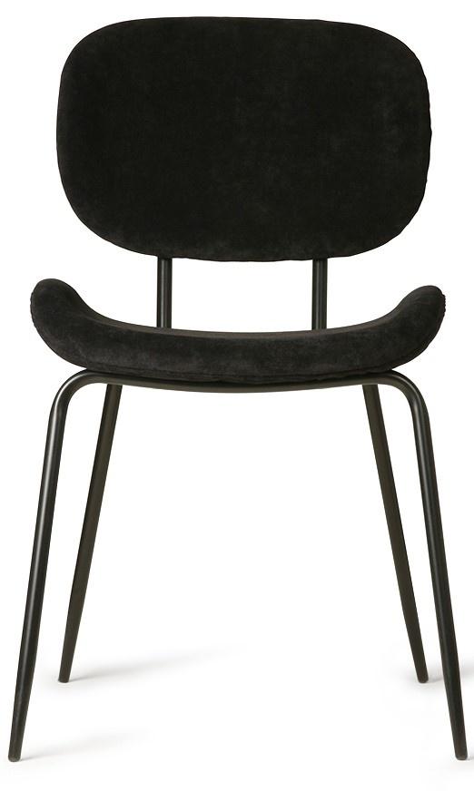 Stoel dining chair rib black-3