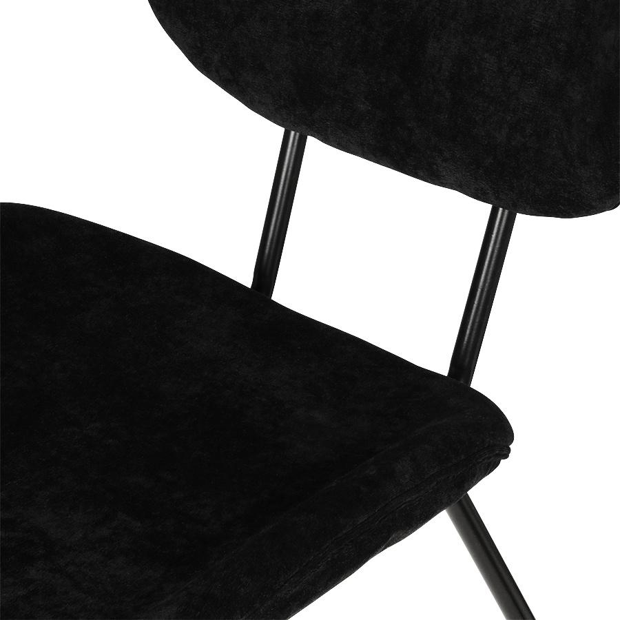 Stoel dining chair rib black-2
