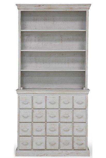 Kast drawer cabinet antique look grey