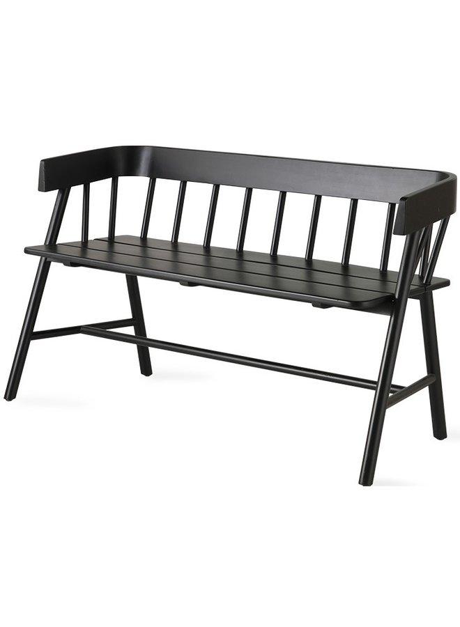 Bank garden bench naturel