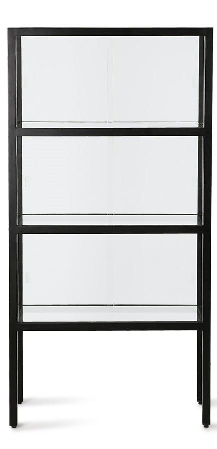Kast show case 3 storey black-1