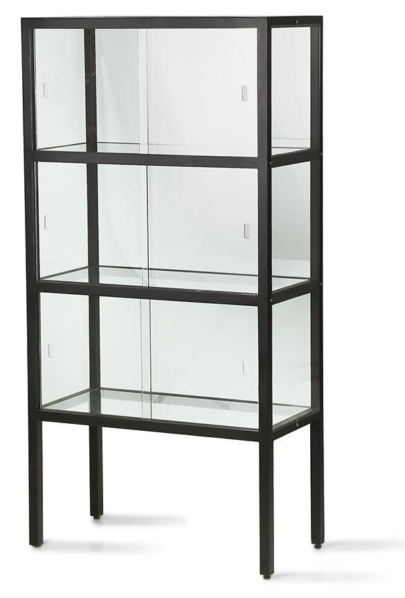 Kast show case 3 storey black-3