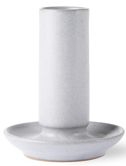 Kaarsenhouder ceramic m grey-1