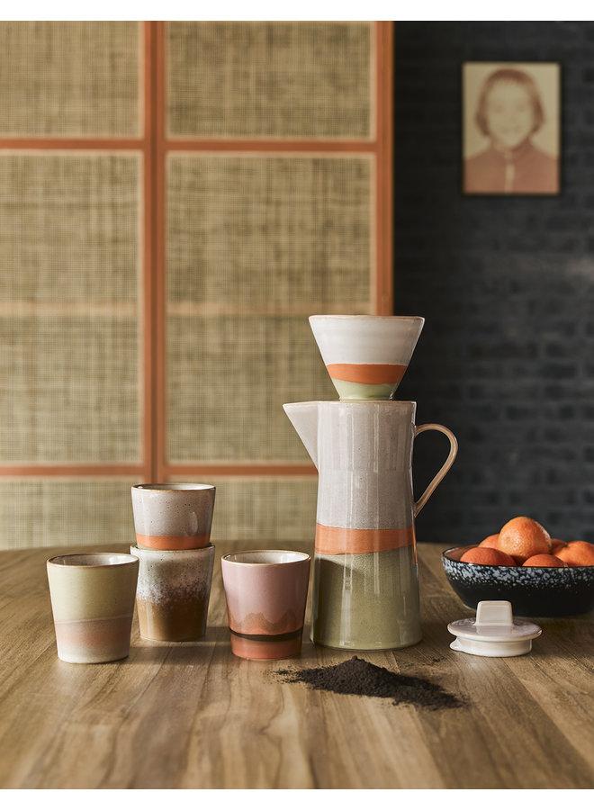 Mok ceramic 70's coffee venus
