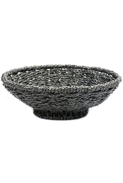 Mand The Porto Seagrass Bowl Black