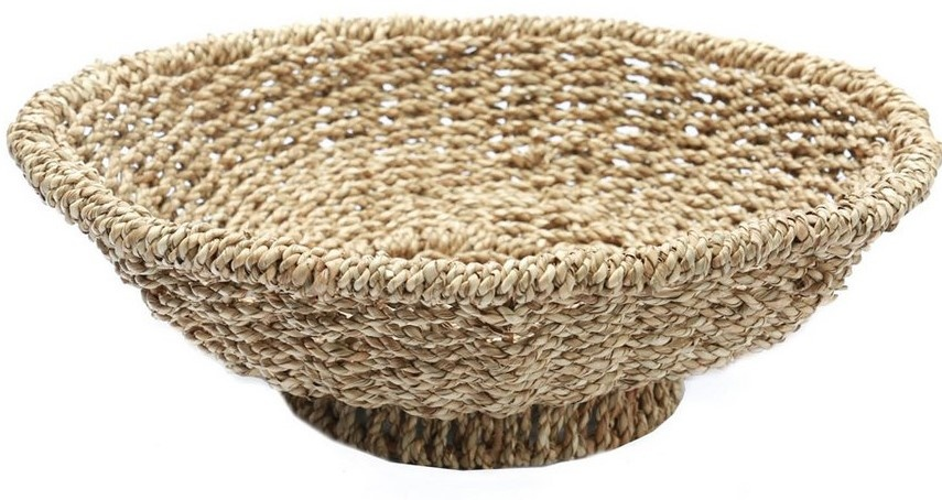 Mand The Porto Seagrass Bowl Naturel-1
