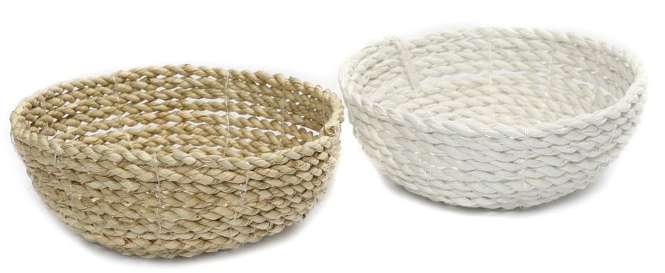 Mand The Seagrass Bowl white S-2