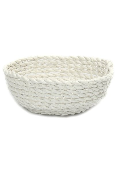 Mand The Seagrass Bowl white S