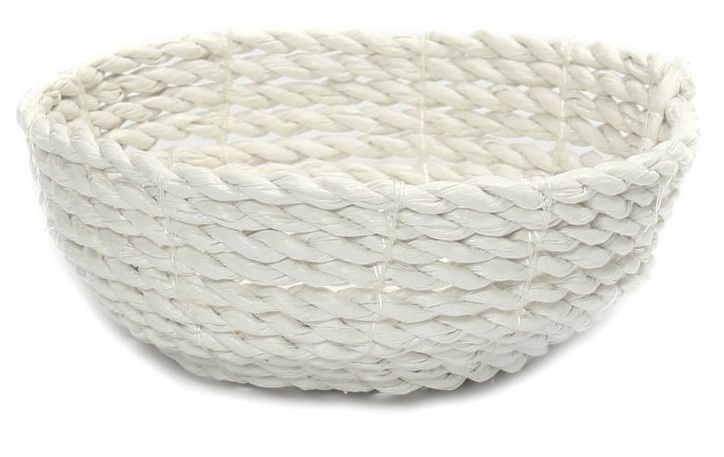 Mand The Seagrass Bowl white S-1