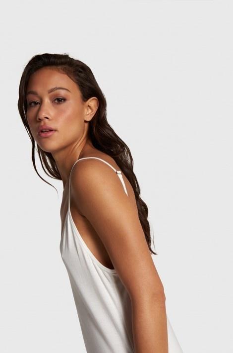 Jurk  knitted slip off white-4