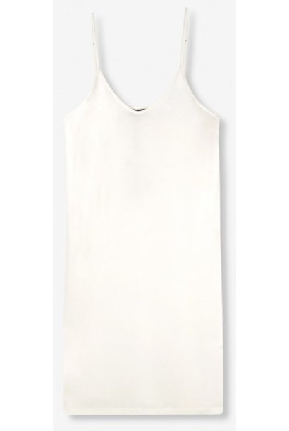 Jurk  knitted slip off white