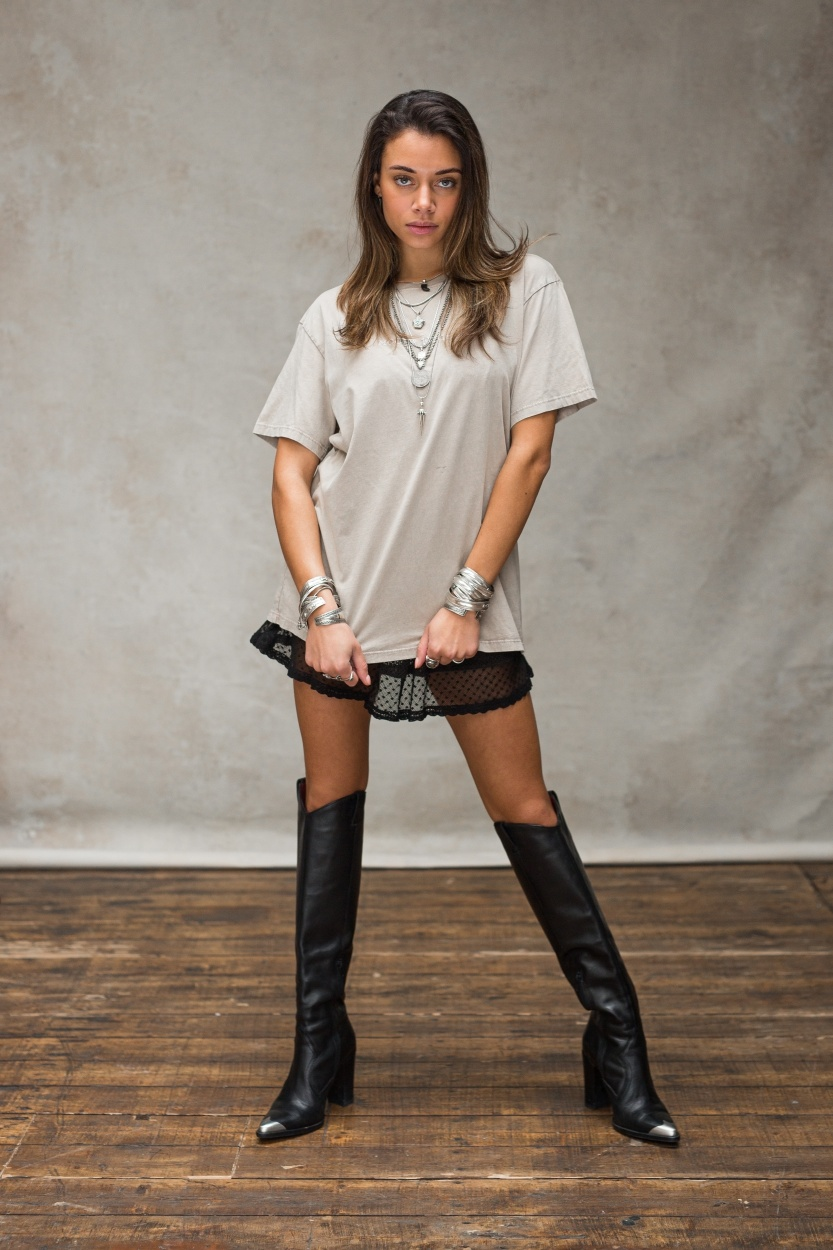 T-shirt Moost wanted Stone beige-1