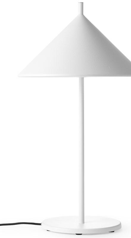 Tafellamp metal triangle M matt white-1
