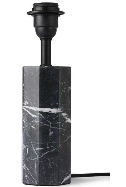 Lampenvoet Hexagon table black marble