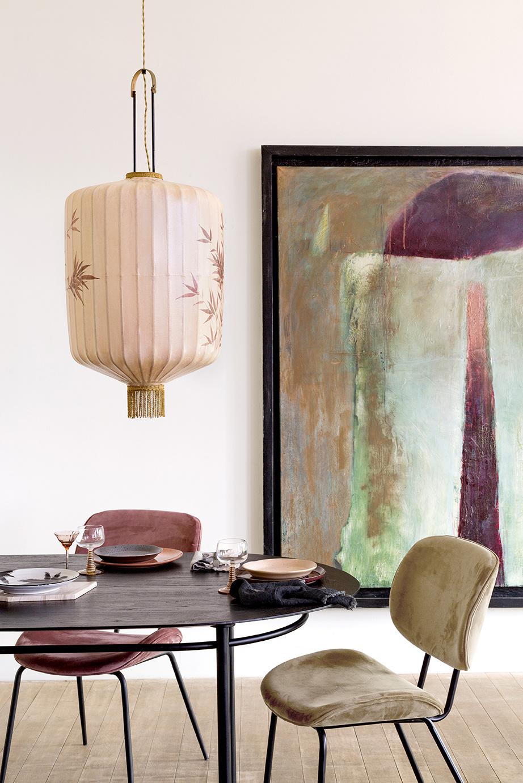Hanglamp traditional lantern XL nude-2
