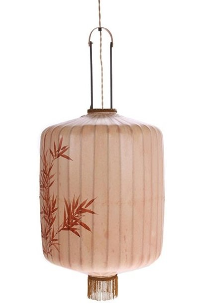 Hanglamp traditional lantern XL nude