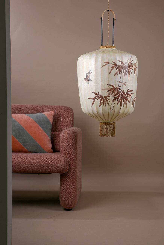 Hanglamp traditional lantern L cream-2