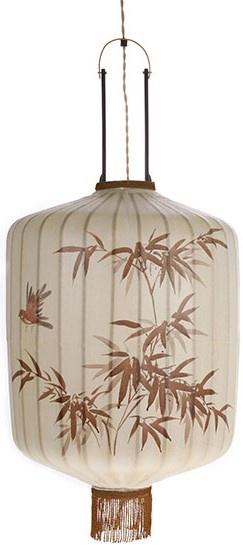 Hanglamp traditional lantern L cream-1