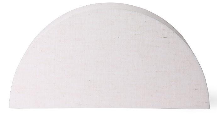 Lampenkap semicircle L natural jute-1