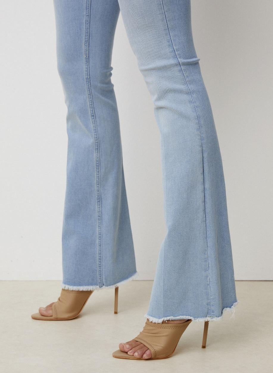 Jeans Leia Sunlit lengte 32 Light Stone-3