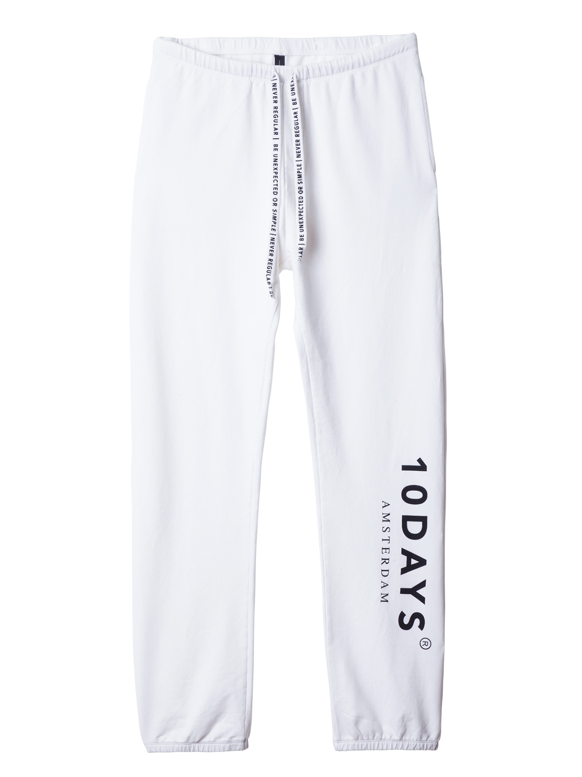 Broek the loose jogger white-1