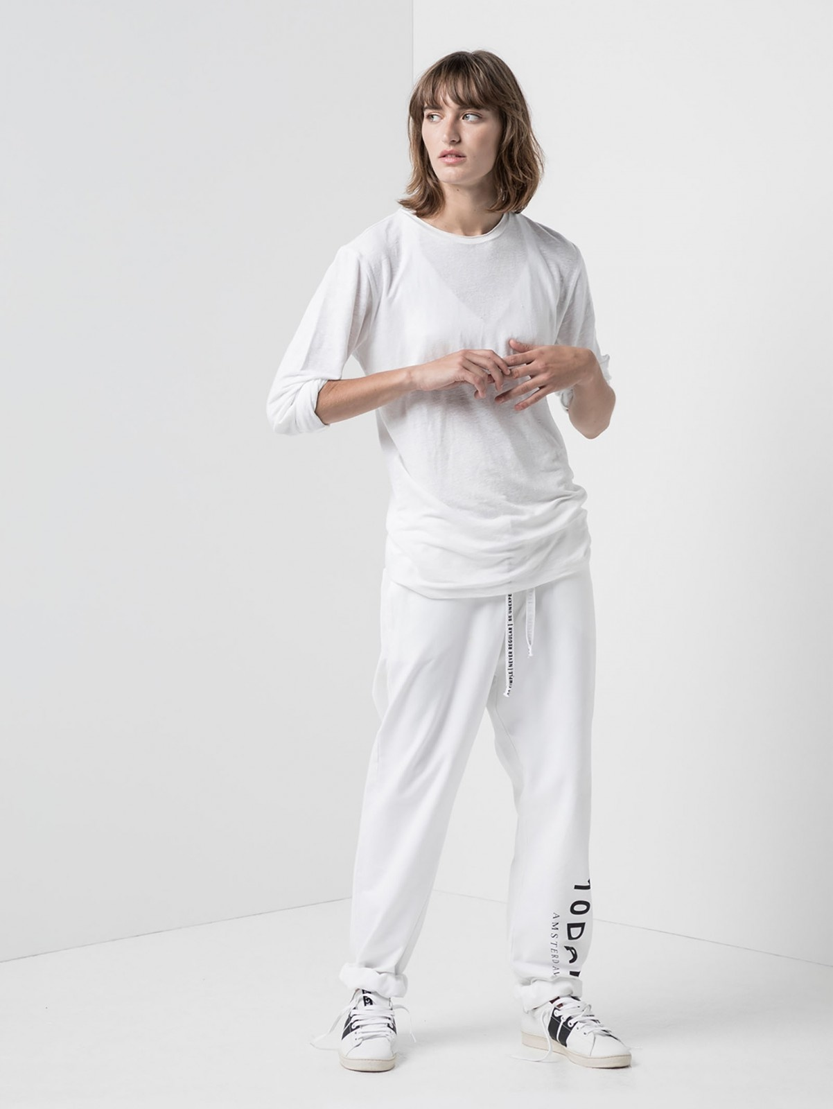Broek the loose jogger white-6