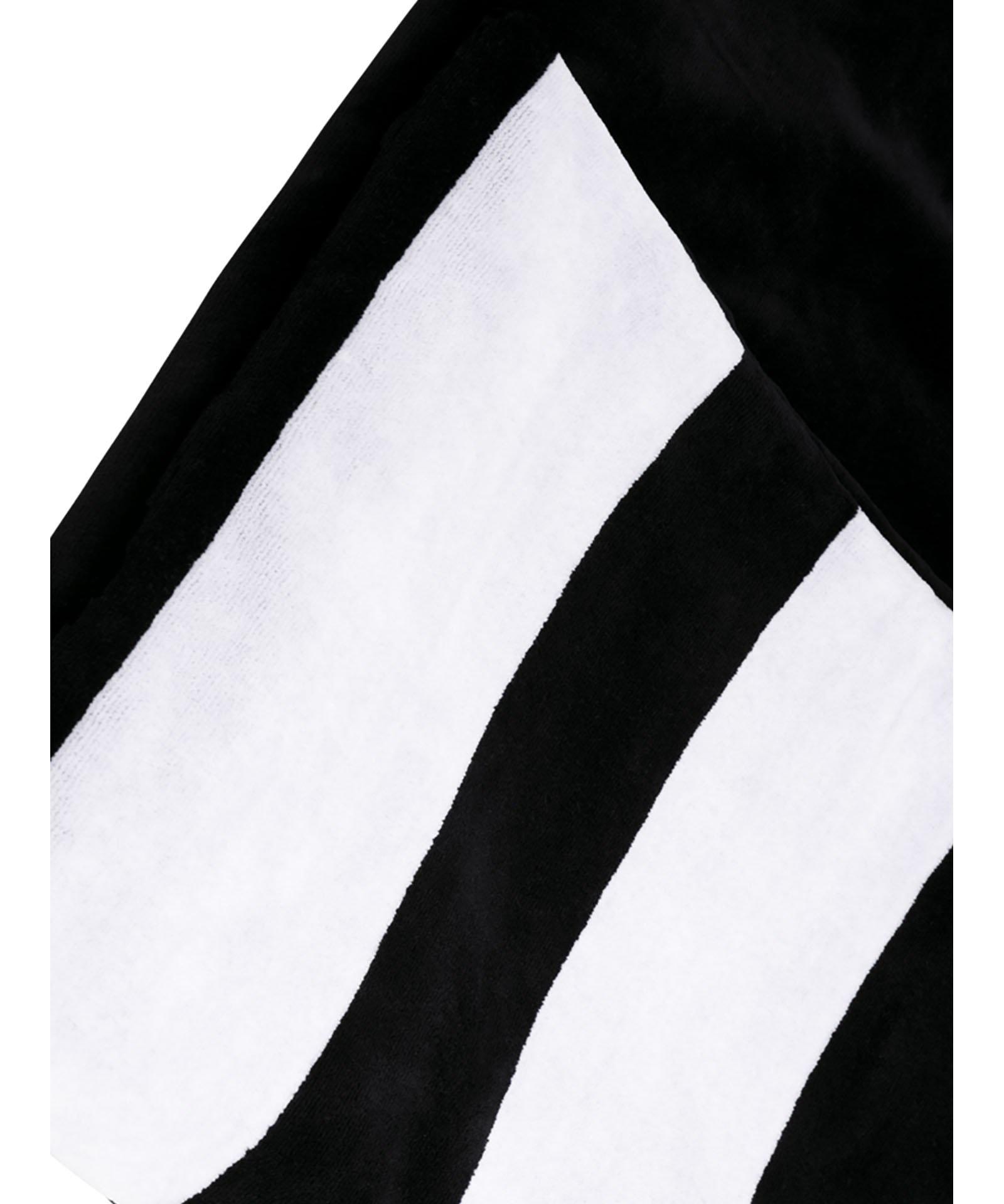 Handdoek the beach towel black-5