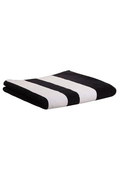 Handdoek the beach towel black