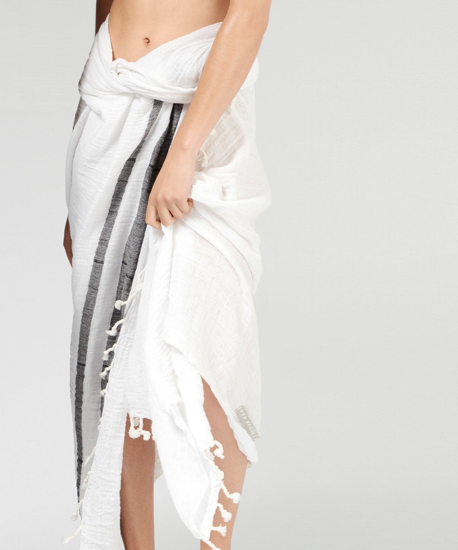 Handdoek hamam towel white-2