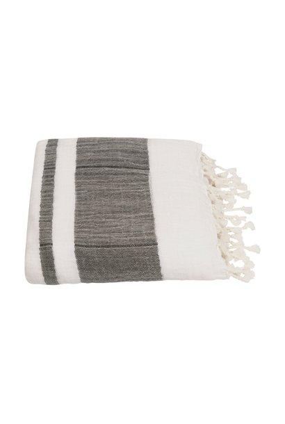 Handdoek hamam towel white