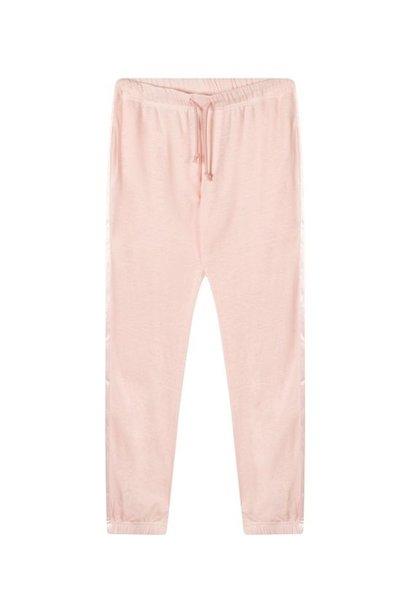 Broek jogger linen dirty pink