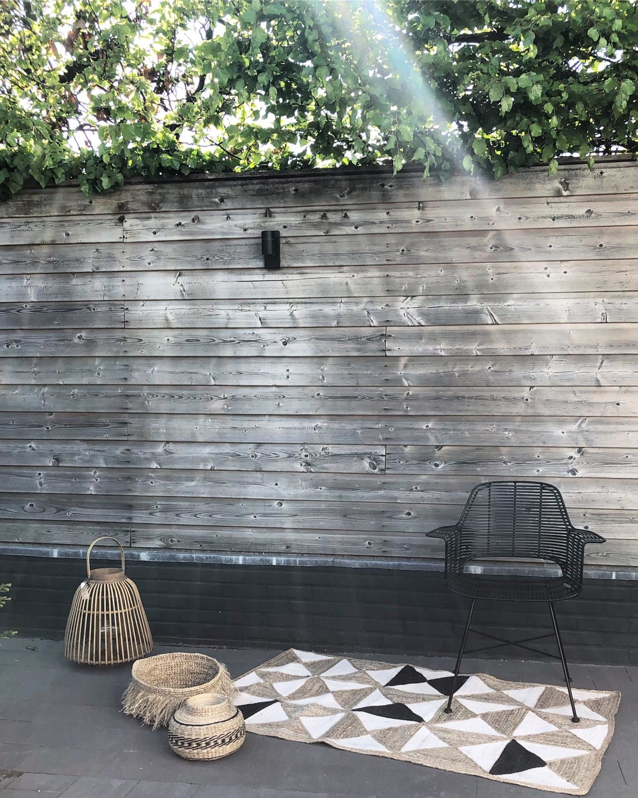 Stoel outdoor tub chair black-5