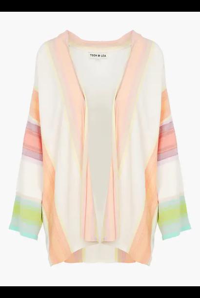 kimono degrade stripes knit