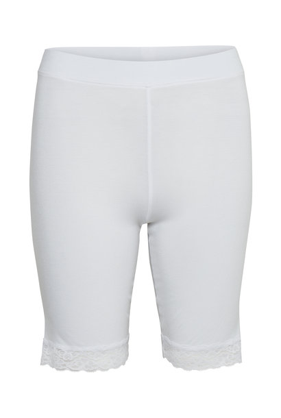 Broek KAsvala Jersey Shorts Optical white