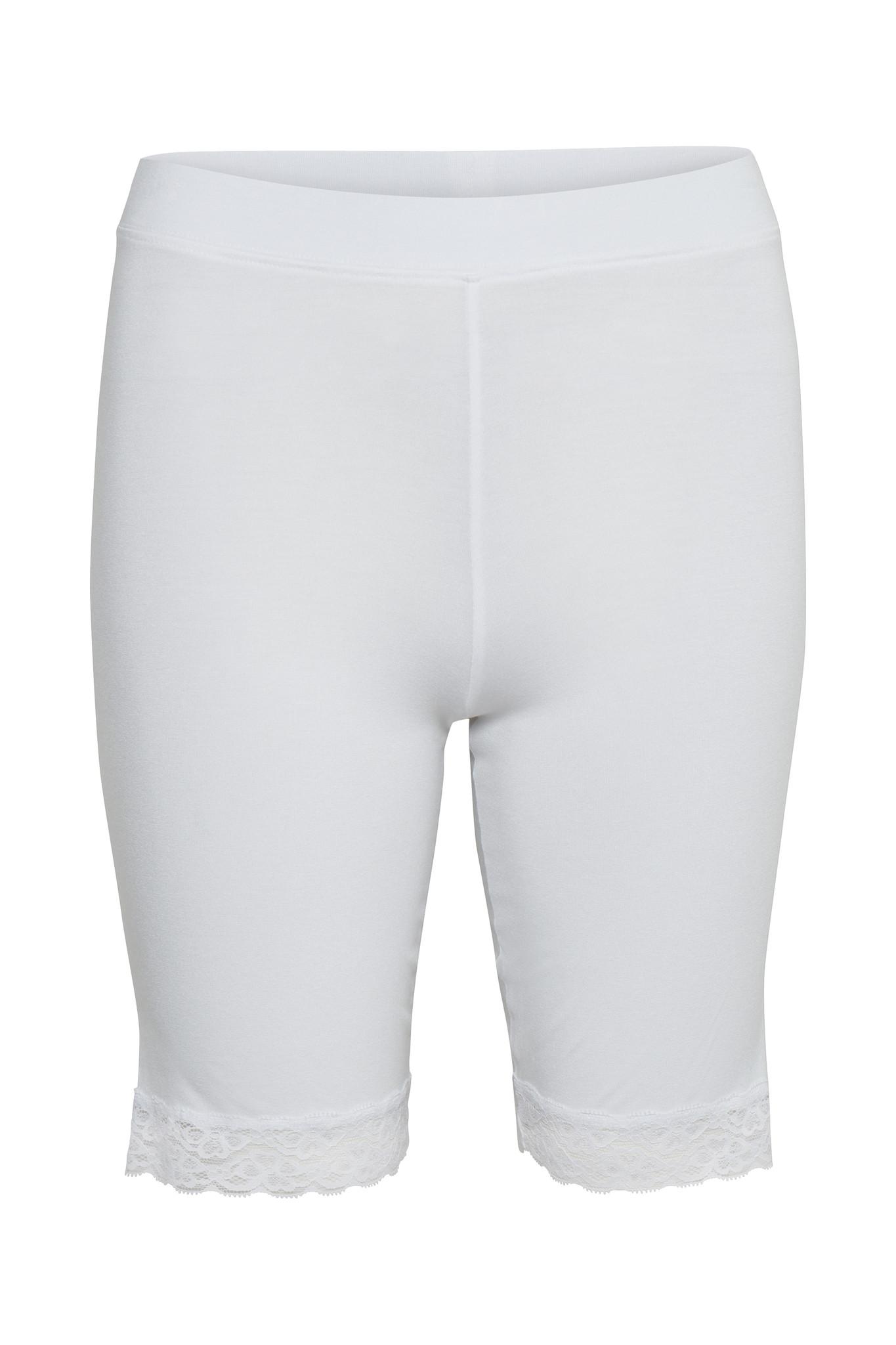 Broek KAsvala Jersey Shorts Optical white-1