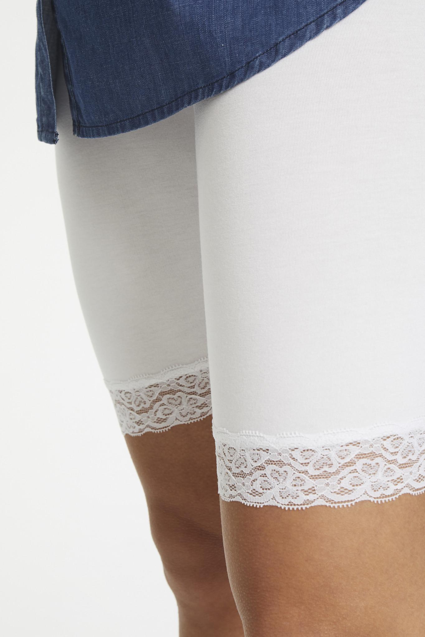 Broek KAsvala Jersey Shorts Optical white-5
