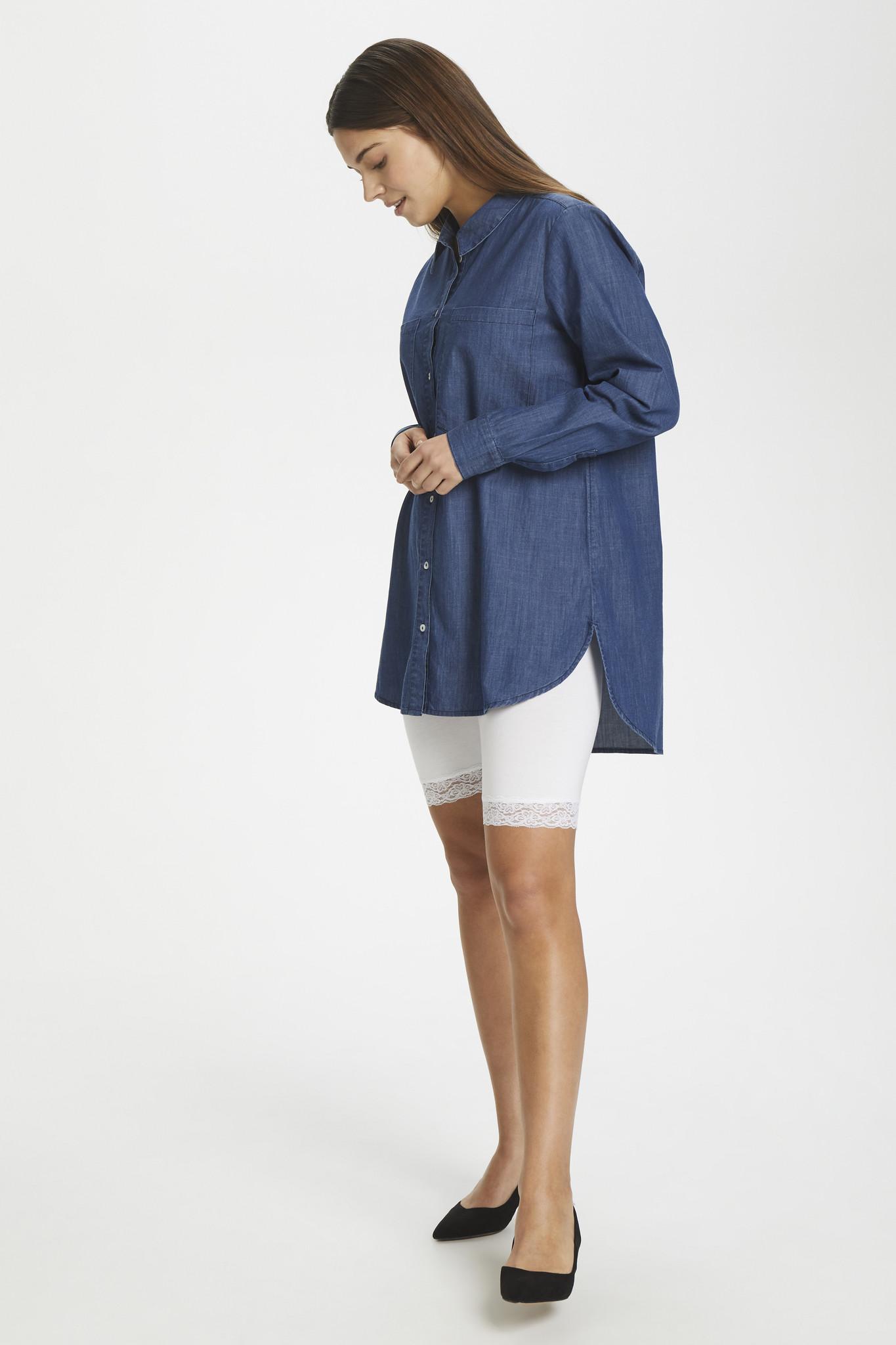 Broek KAsvala Jersey Shorts Optical white-6